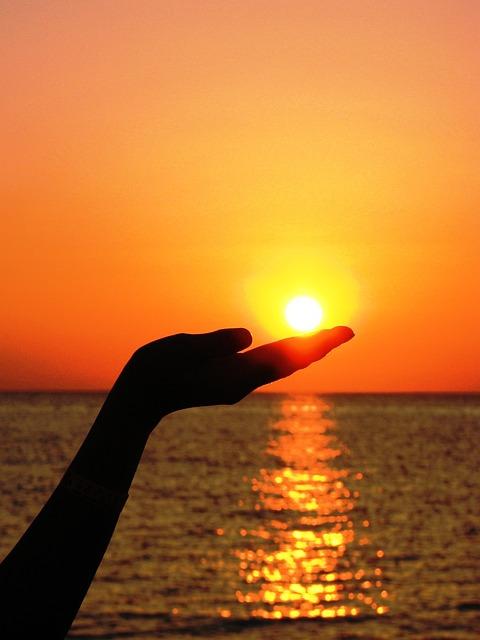 Le soleil maintient un bon taux de vitamines D dans l'organisme